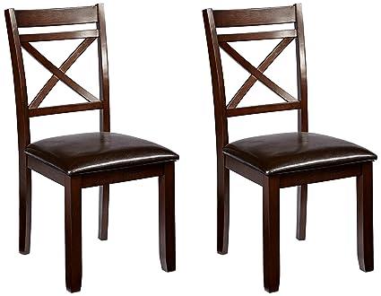 Amazon Com Simmons Casegoods 5009 02 Austin Chairs 2 Pack Kitchen