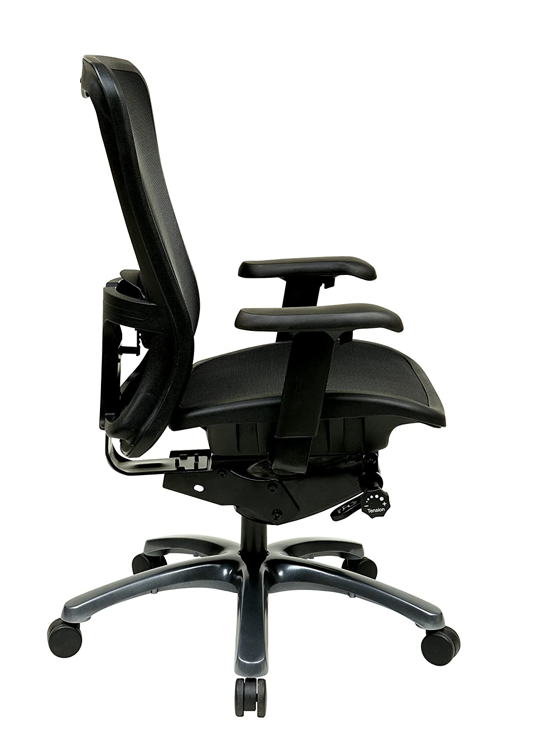 Manager Chair Black Mid-Back