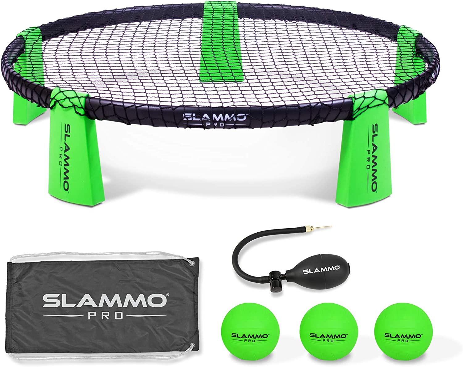 Gosports Slammo Pro Game Set New And Improved Pro Set With 3 Pro Balls Pump And Carrying Case Outdoor Games Activities Amazon Canada