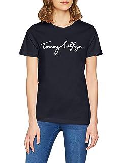 ecab0ded Calvin Klein Jeans Women's Tamar-49 Cn Lwk S/s T-Shirt, (Ck Black ...