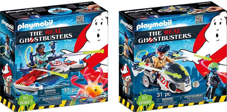 Playmobil The Ghostbusters™ 2 pcs. Set 9387 9388 Ghostbusters Jetski + Ghostbusters Bike