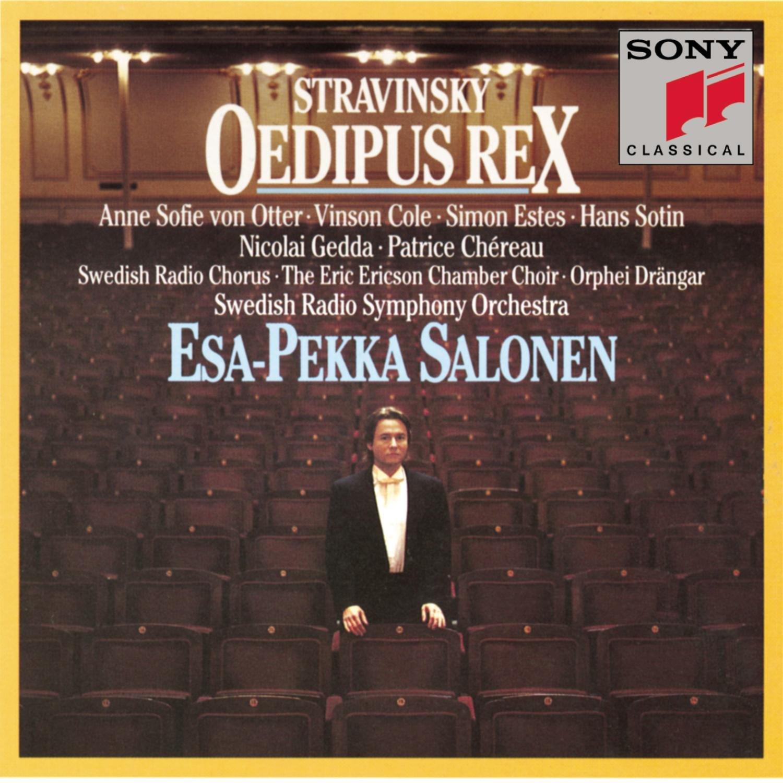 Stravinsky: Oedipus Rex ~ Salonen by Sony Classical