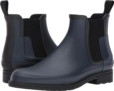 Hunter Men's Original Refined Dark Sole Chelsea Boots jQe7O