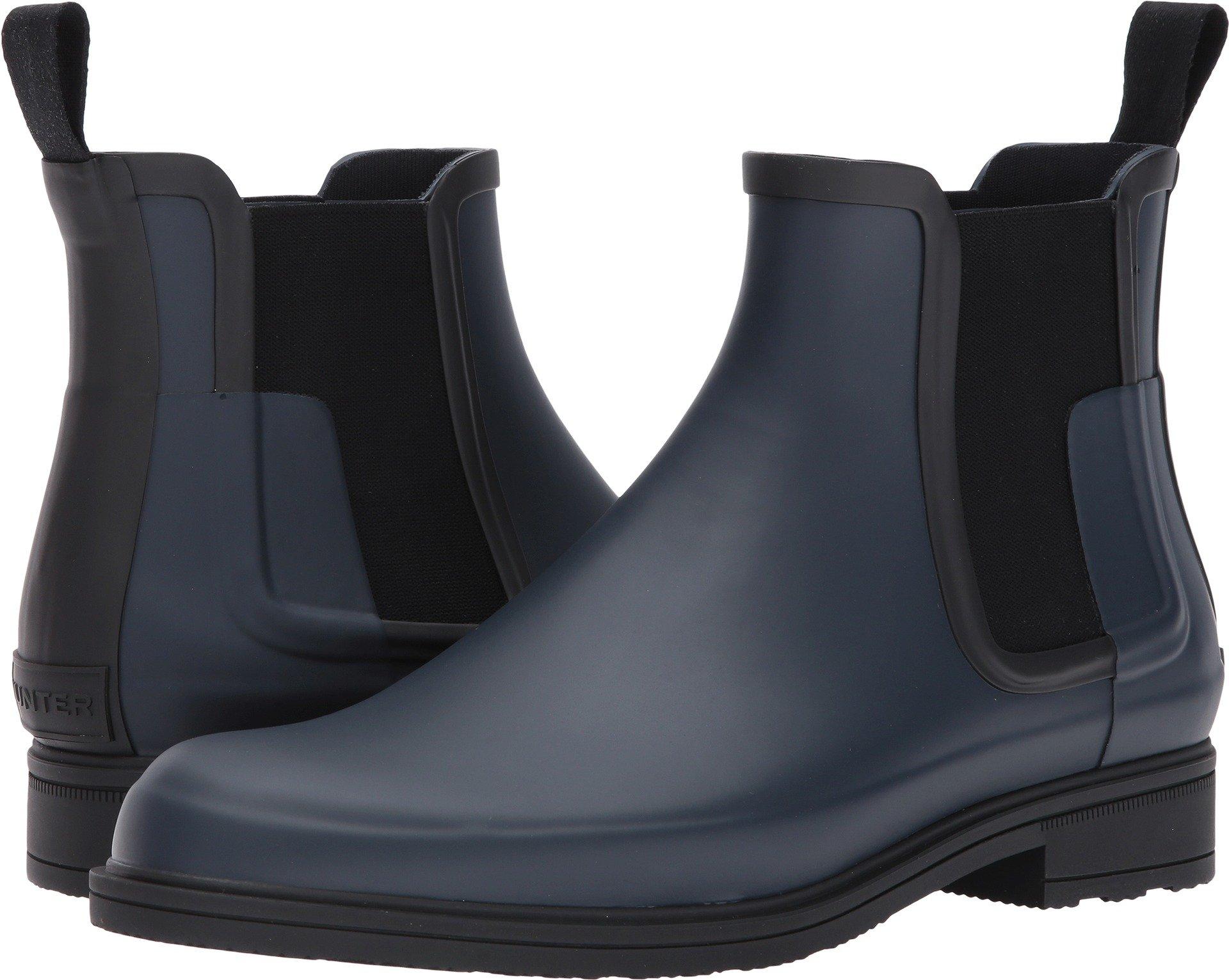 Hunter Men's Original Refined Chelsea Navy/Black Boot