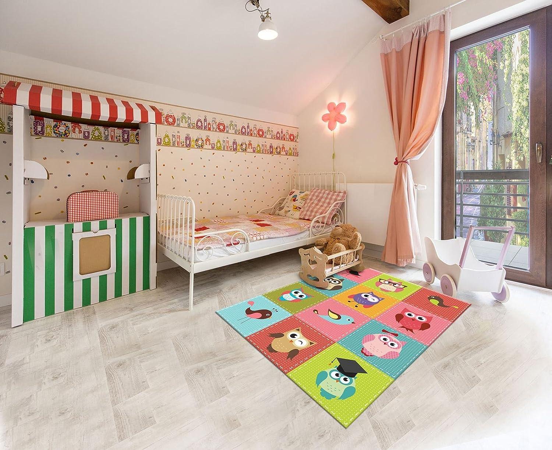 Bevorzugt PVC Vinyl Fussboden Fußboden Boden Teppich Matte ForWall Vögel und GB91