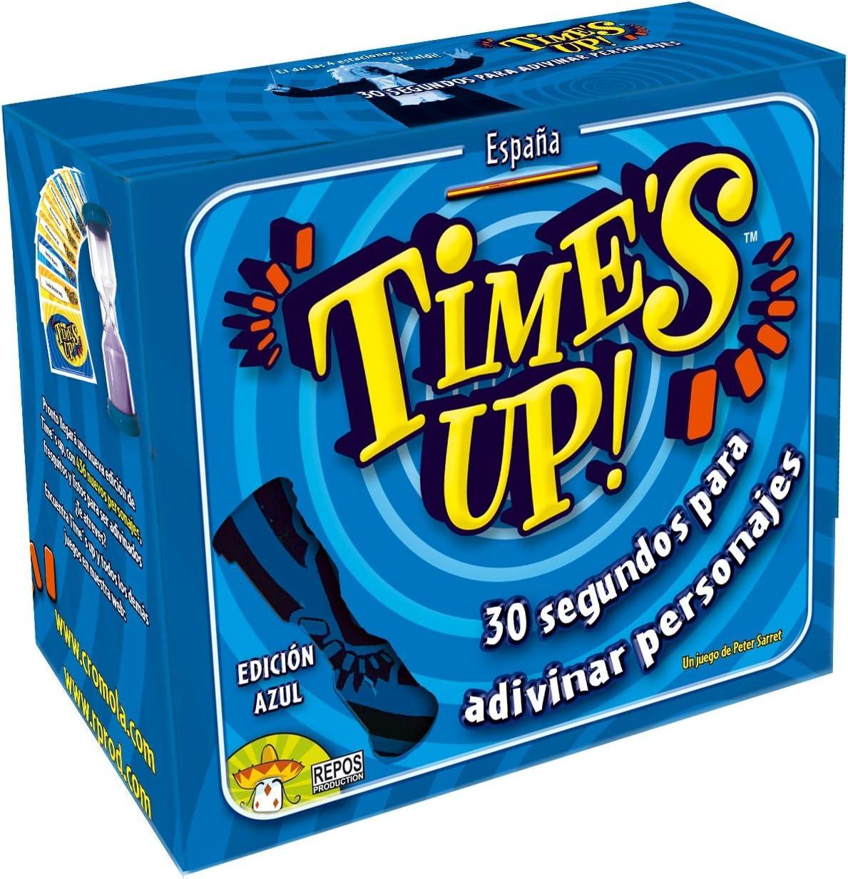 Asmodee - Times up, Juego de Mesa, Color Azul (20): Amazon.es: Juguetes y juegos