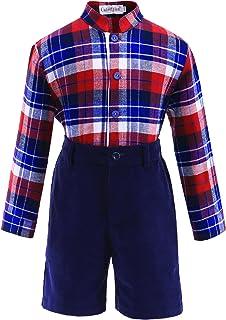 Lajinirr -  Completo  - Classico  - Maniche lunghe  - ragazzo Little Boys Suit-105-11-12Y