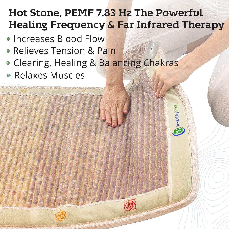 Amazon.com: HealthyLine PEMF - Esterilla para chakras (7 ...