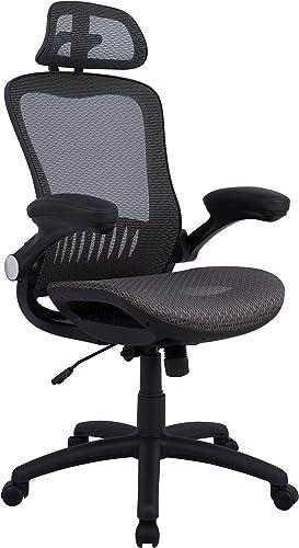 AmazonBasics Adjustable High-Back Mesh Chair