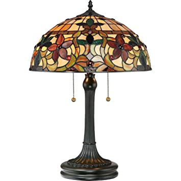 Amazon quoizel tf878t 2 light kami table lamp in vintage quoizel tf878t 2 light kami table lamp in vintage bronze greentooth Choice Image