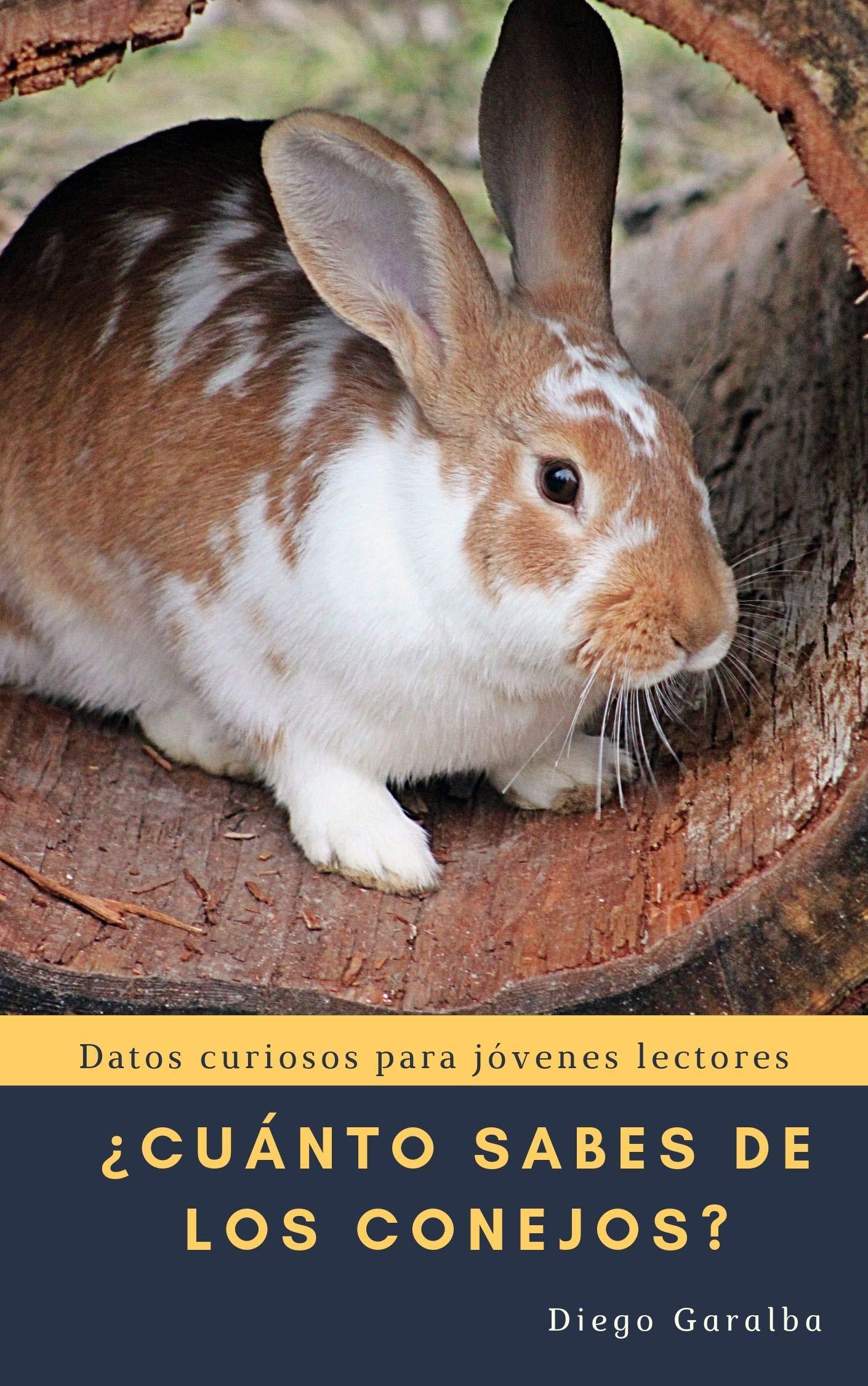 ¿CUÁNTO SABES DE LOS CONEJOS?: Datos curiosos para jóvenes lectores con impactantes fotografías (¿Cuánto sabes de...? nº 23)