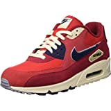 Nike Mens Air Max 90 Premium SE Running Shoe 10 Red