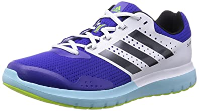 reputable site b51b8 fedda adidas Damen Duramo 7 Laufschuhe, Blau (Night Flash S15Night Met. F13