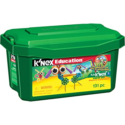 K'NEX Education – Kid K'NEX Group Building Set – 131 Pieces – Ages 3+ – Preschool Educational Toy: Industrial & Scientific