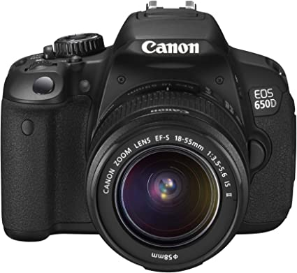 Canon Eos 650d Slr Digitalkamera 3 Zoll Schwarz Kamera