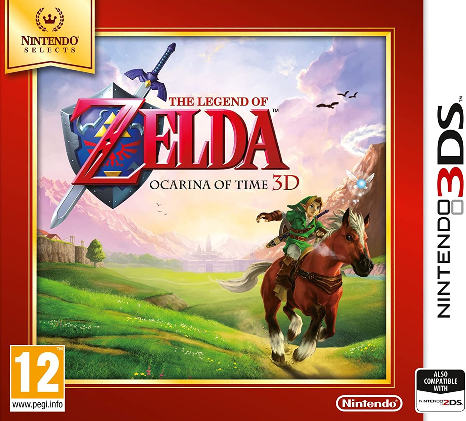 The Legend Of Zelda: Ocarina Of Time (Nintendo Selects): Amazon.es ...