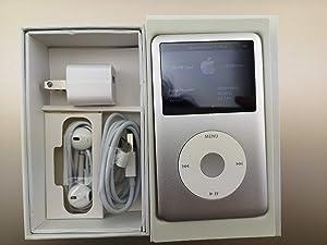 Original AppleiPod Compatible for mp3 mp4 Player Apple iPod Classic 7th gen 120GB Black