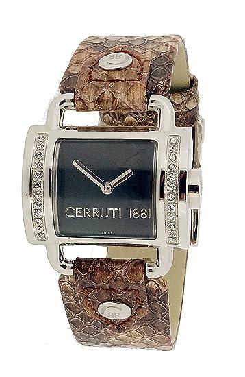 Cerruti CT066272001 - Reloj de mujer de cuarzo, correa color rosa claro: Amazon.es: Relojes