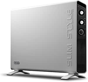 De'Longhi Slim Style, Panel Heater with Manual Timer, 2000W, HCX3220FTS, White