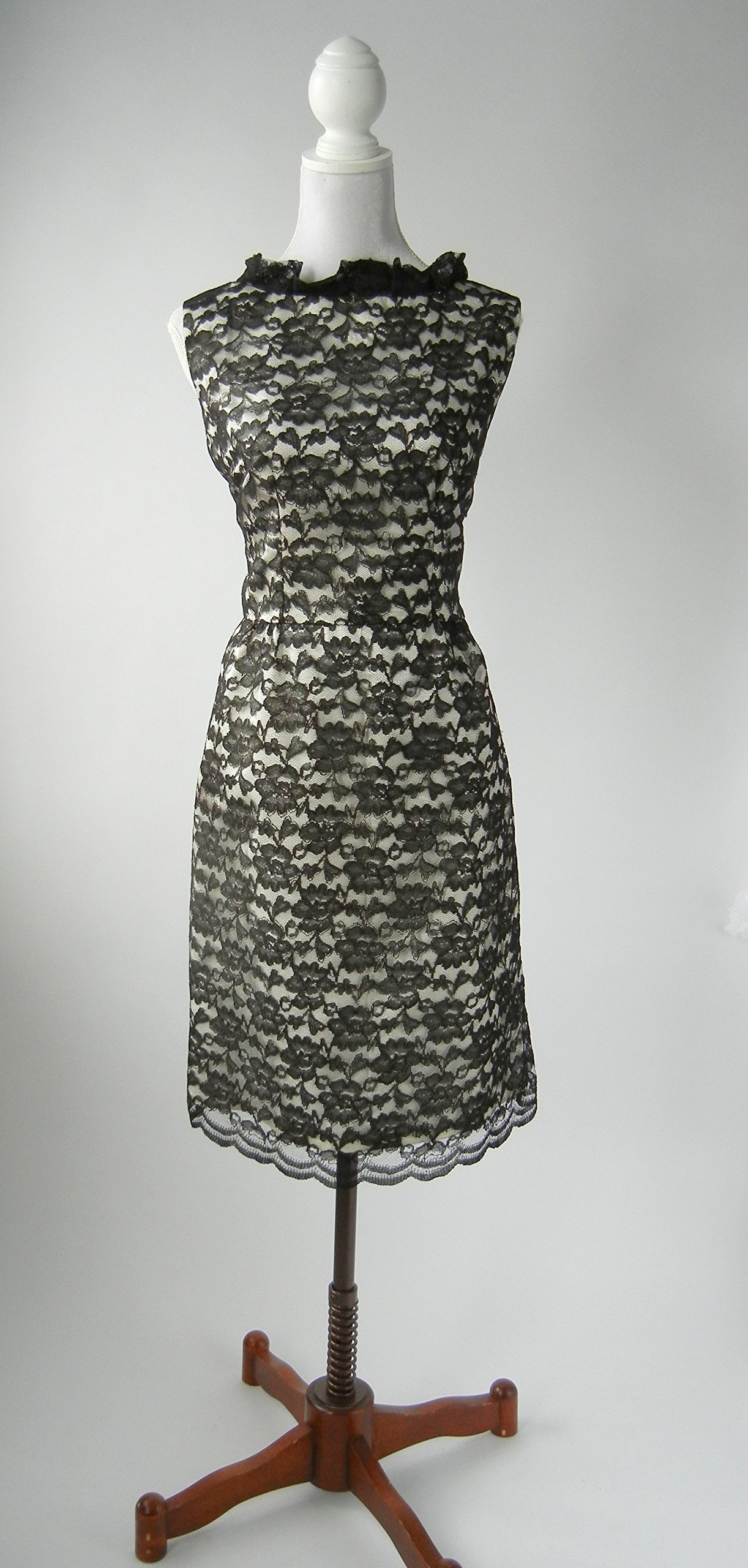 1950s Vintage Style Pin Up Rockabilly Lace Dress