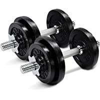Yes4All Adjustable 60lbs Dumbbells