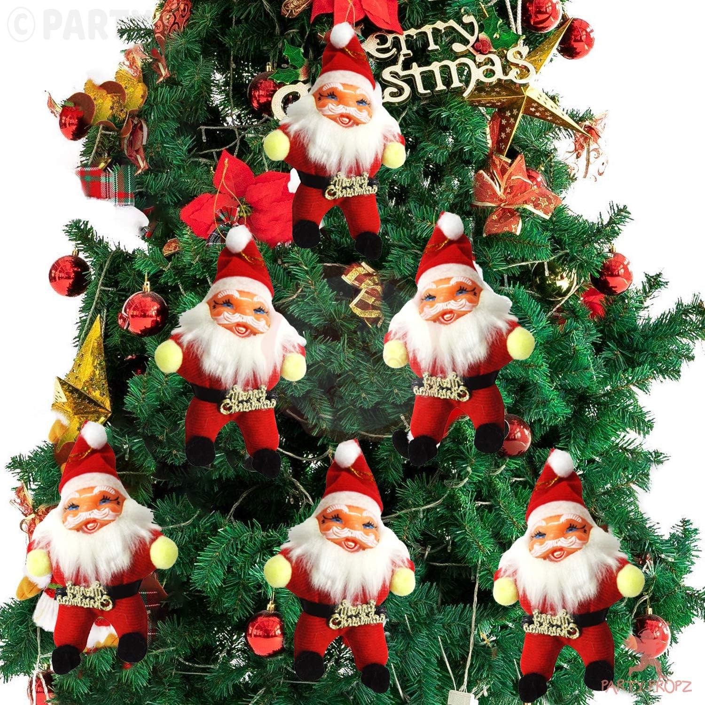 6pcs Christmas Common Santa Hat Cap Xmas Gift Adult Kids Party Supply Decoration