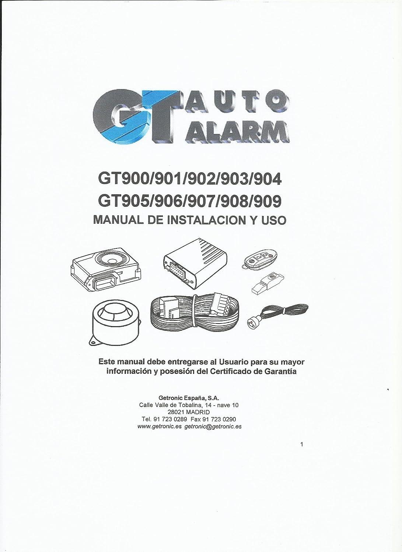 Alarma Getronic GT 904, auto-alimentada, funciona con el ...