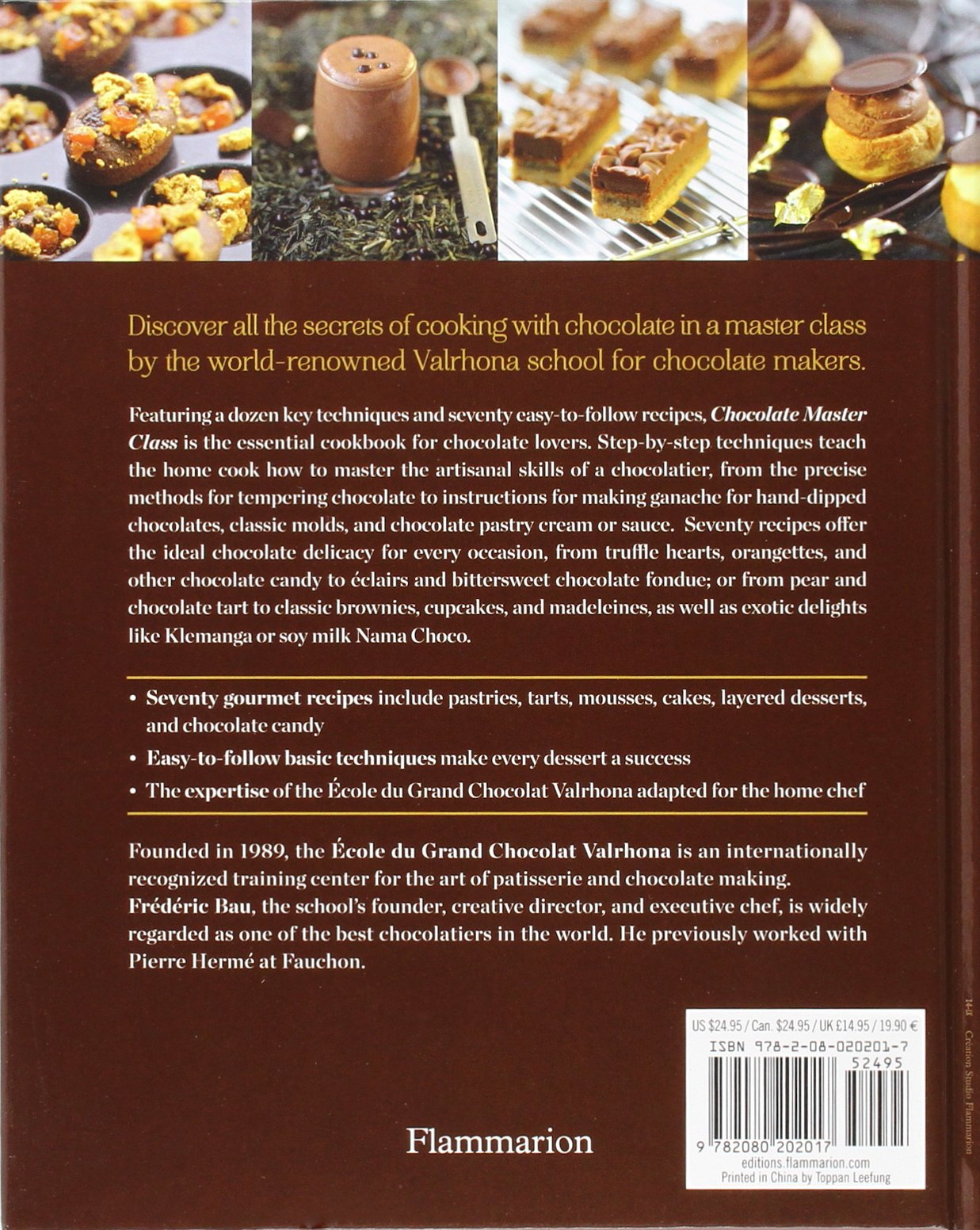 Chocolate Master Class: Essential Recipes and Techniques: Ecole ...