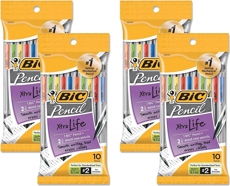 Portaminas 0.7mm BIC BC27671 Xtra Life Medium Point x40