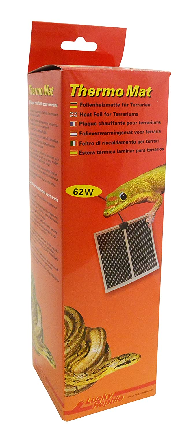 Lucky Reptile HTM62 Thermo Mat 62 W, heating mat for terrariums