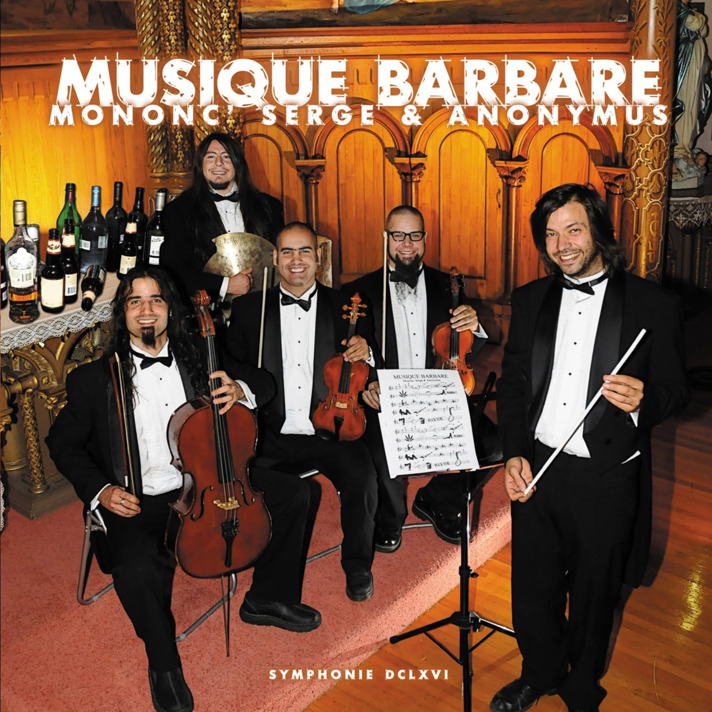Mononc' Serge & Anonymus - Musique Barbare - Amazon.com Music