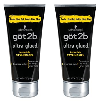 Got2b Glued Ultra Styling Gel (2 pack)