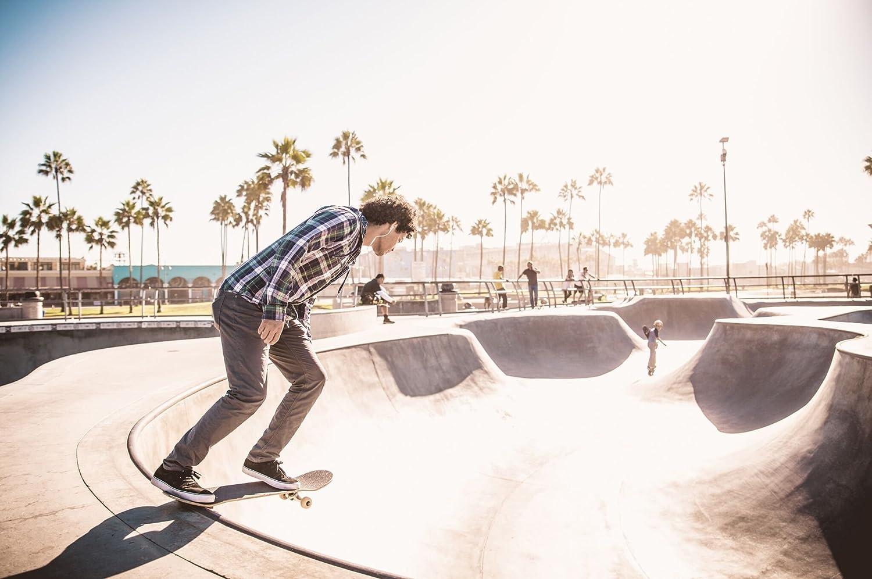 Lasts Longer Than Most Decks! Lighter Stronger Bamboo Skateboards Graphic Skateboard Deck- More Pop