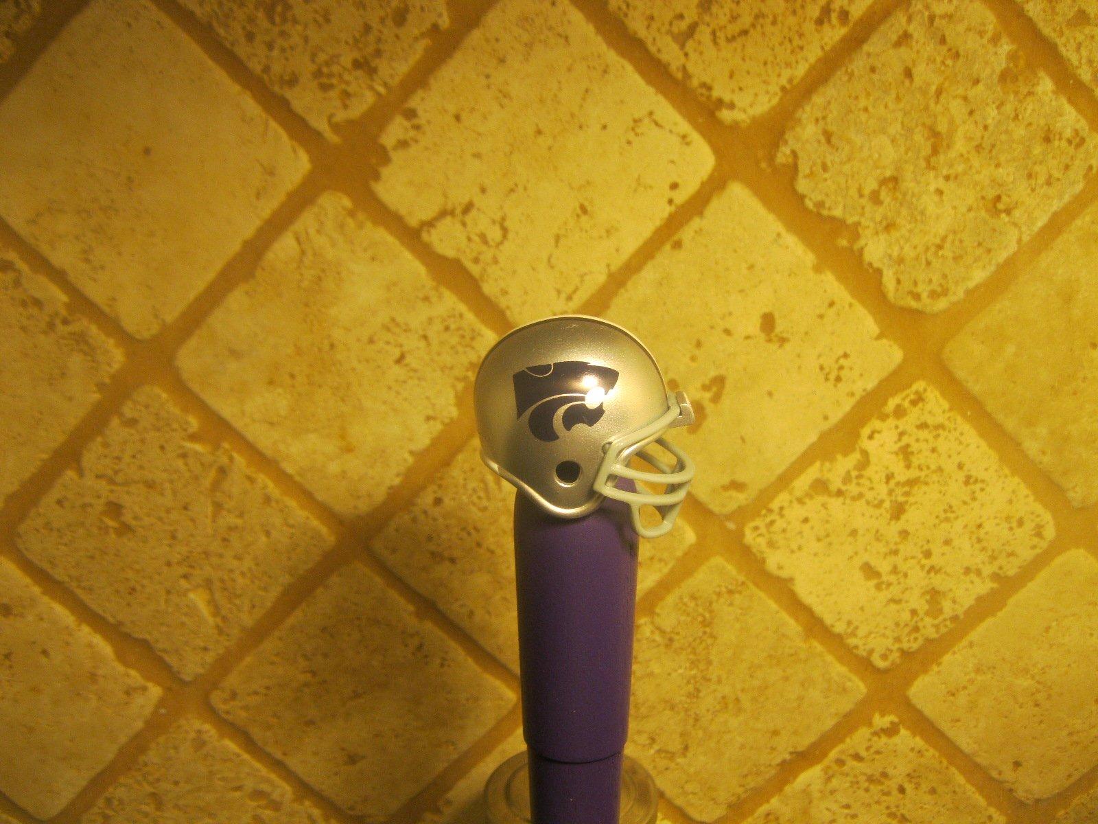 Kansas State Wildcats Kegerator Beer Tap Handle Football Helmet Team Bar NCAA by NCAA Sports Beer Tap (Image #3)