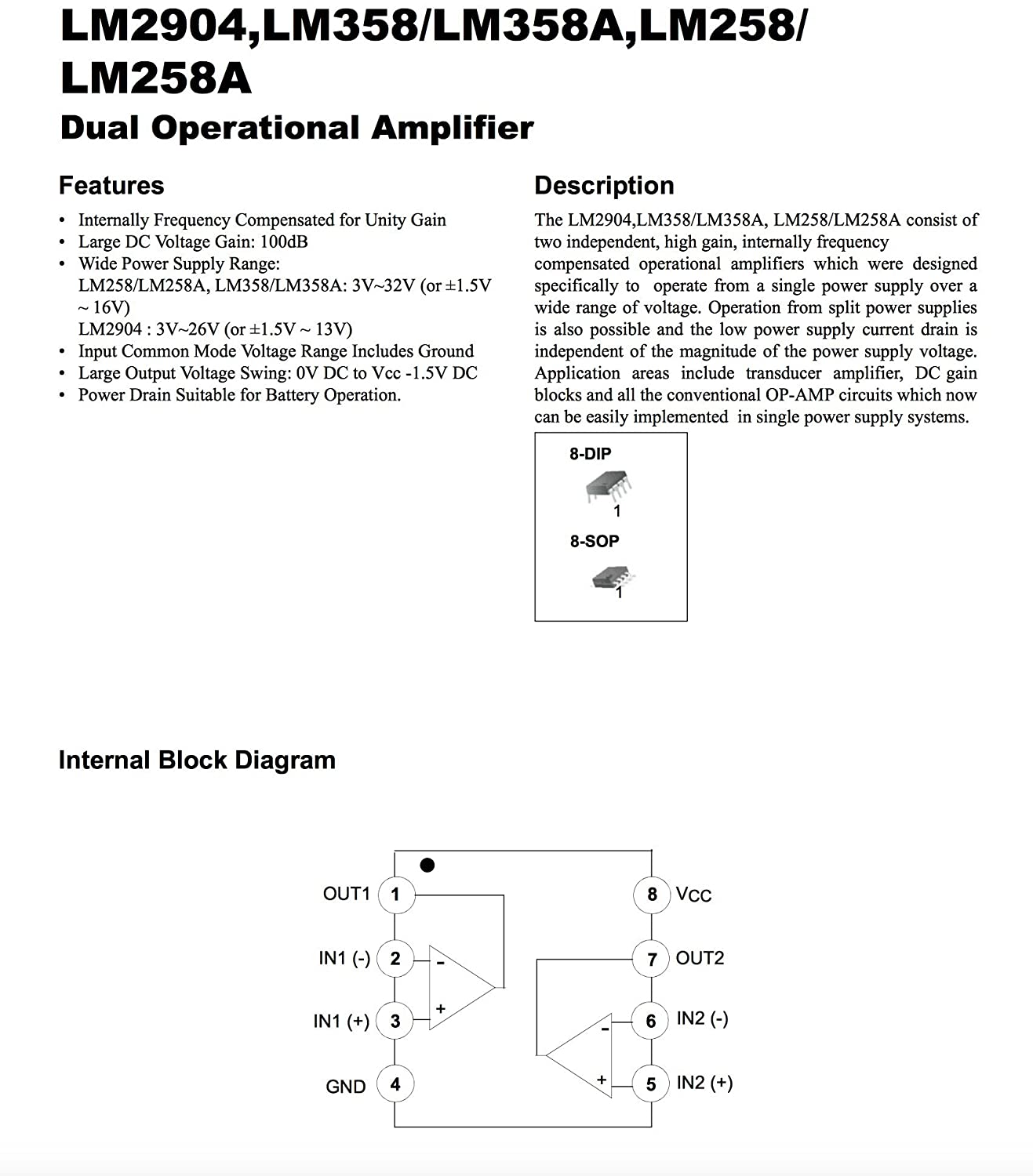 Texas Instruments And Fairchild Lm358n X10 Ua741cp The 741 Opamp Is A Common General Purpose Operational Amplifier 15v To 16v Amplifiers Instrumentation Op Amps Buffer