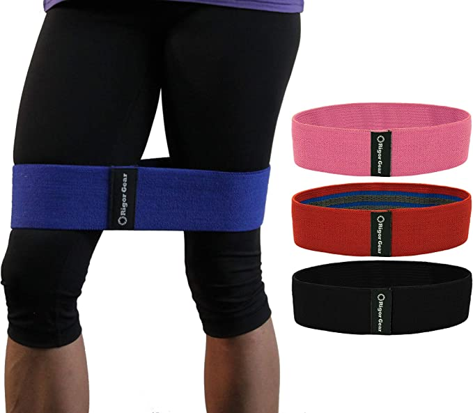 Activate Glutes and Thigh Vech Resistance Bands Loop Exercise Bands Booty Bands Workout Bands Hip Bands Wide Resistance Bands Hip Resistance Band for Legs and Butt