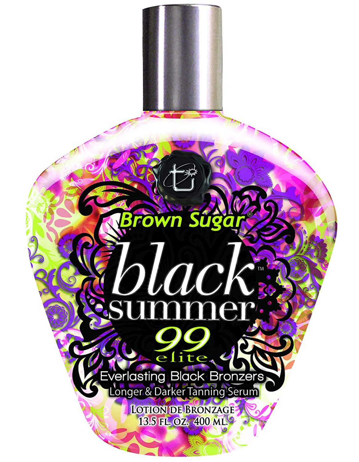 2012 Brown Sugar BLACK SUMMER Bronzer Tan Incorporated Tanning Lotion 13.5 oz.