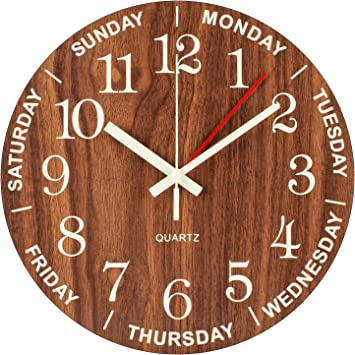 Traditional Wooden Clock