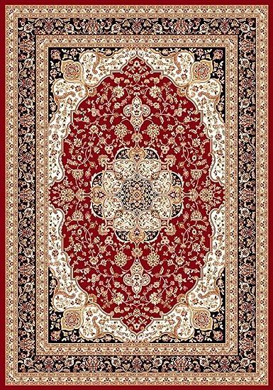 "ACTUAL 7/' 8/"" x 10/' 8/"" PERSIAN BURGUNDY AREA RUG 8 X 11 ORIENTAL CARPET 69"