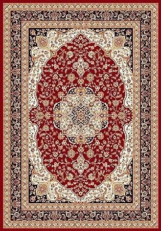 Amazon Com Persian Rugs 2652 Oriental Burgundy 8 X 11 Area Rug