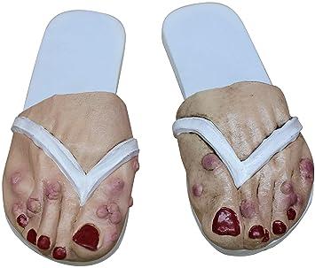 Old lady feet pics