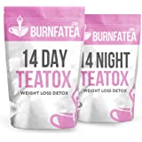 Burnfatea 14 Day Detox Tea Set (NO LAXATIVE EFFECT, Weight LossTea, Detox Tea, Slimming, Diet Tea)