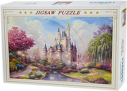 1000 Pieces DIY jigsaw Puzzle Dream castle Adult Children Kids Educational Toys