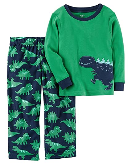 4cb539d63 Amazon.com  Carter s 2-Piece Boys Fleece Pajamas Top and Pants ...