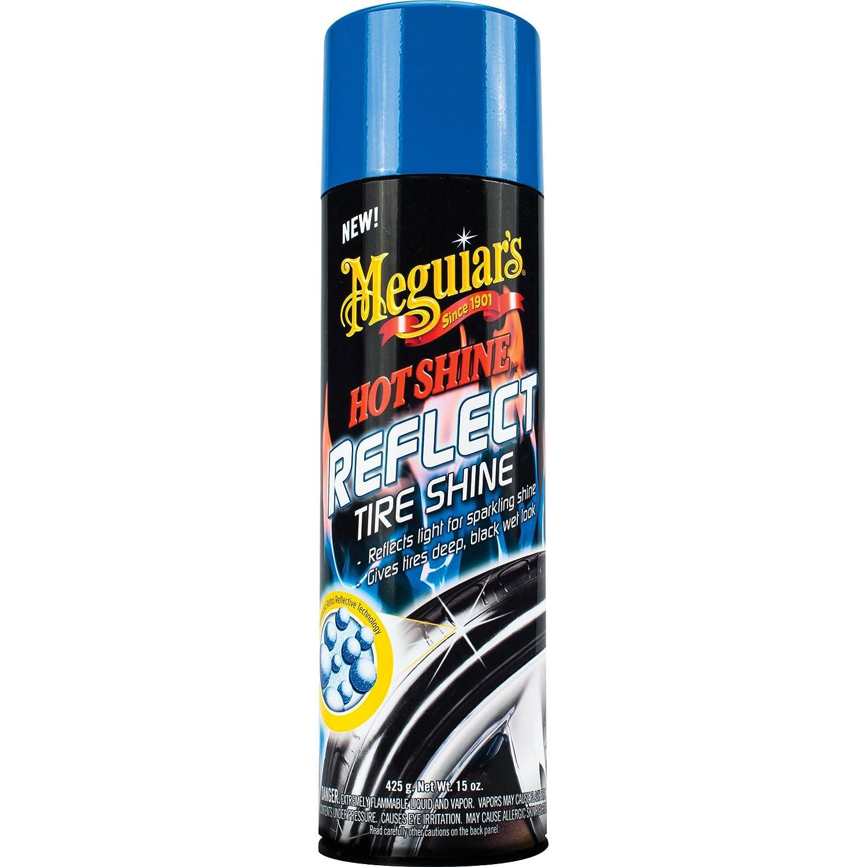 Meguiars Hot Shine Reflect Lustreur ultra-brillance pour pneus de voiture/moto