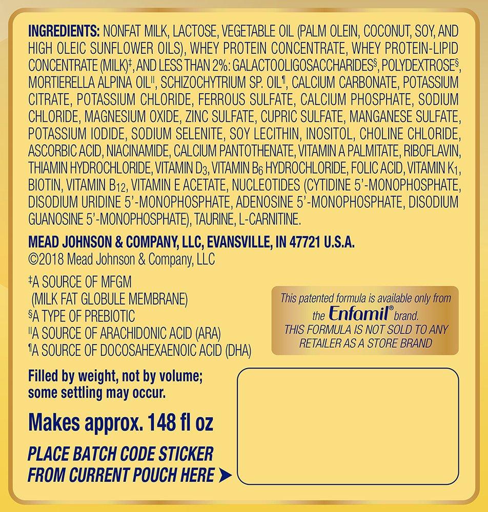 Enfamil NeuroPro Baby Formula Milk Powder, 20.7 Ounce (Pack of 6), Omega 3, Probiotics, Brain Support by Enfamil (Image #11)