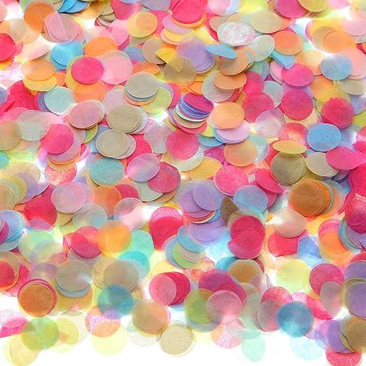 Mini Circles//Dots Multi Coloured Party Table Top Confetti//Decoration//Scatters