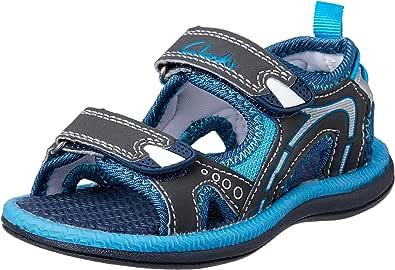 Clarks Boys' Fear II Fashion Sandals