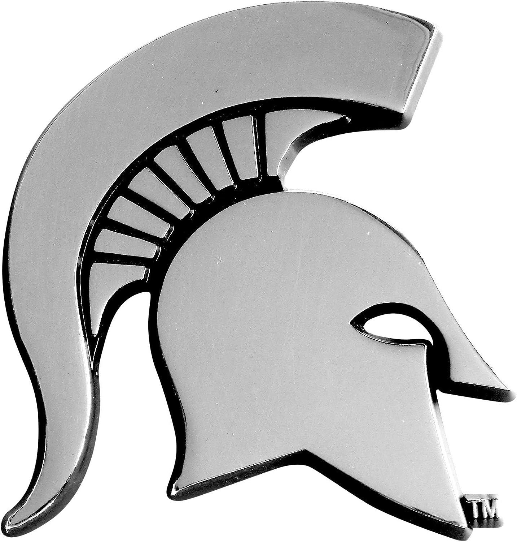 FANMATS NCAA Michigan State University Spartans Chrome Team Emblem