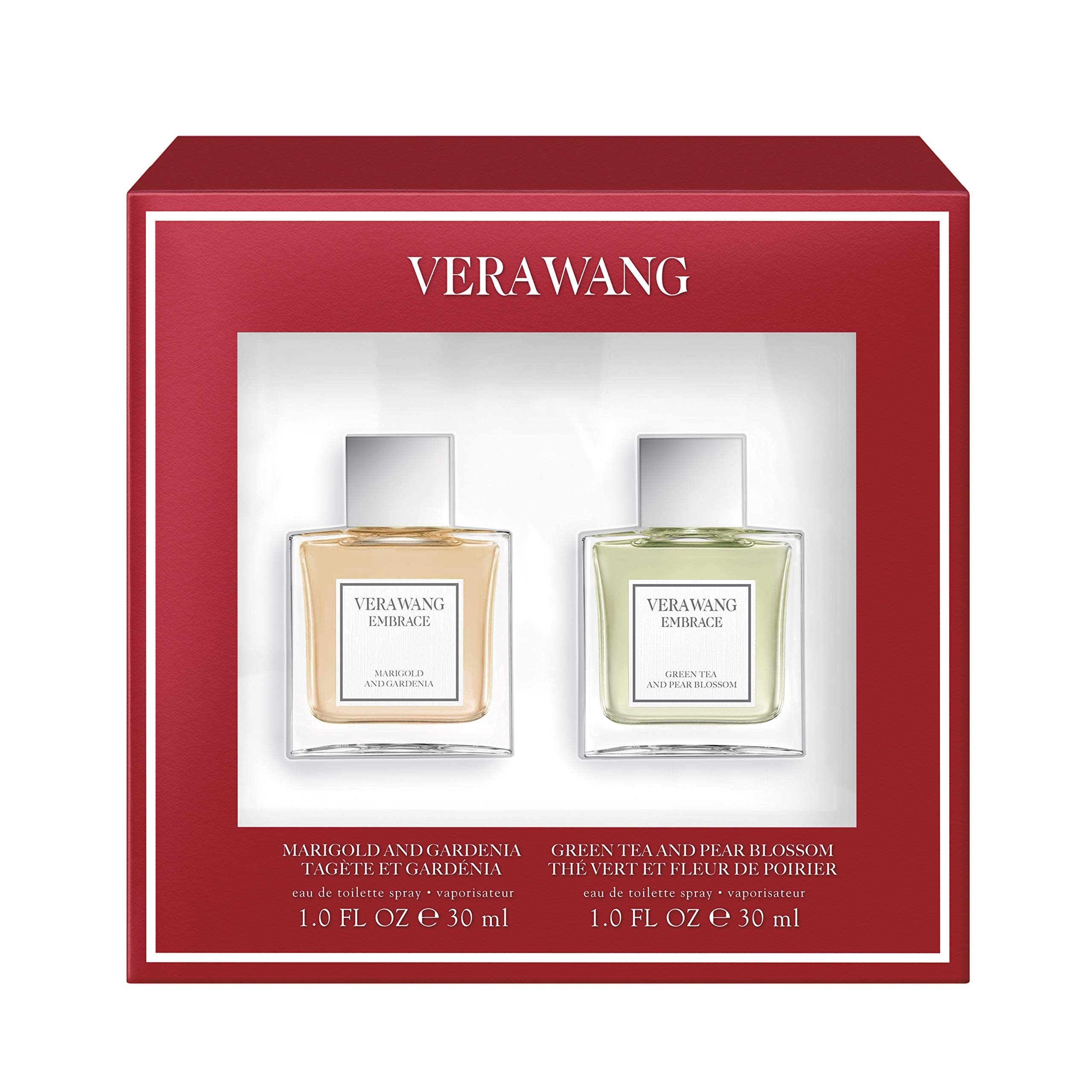 Vera Wang Vera Wang Embrace Eau De Toilette, Marigold And Gardenia/Green Tea And Blossom, 1 Ounce, Pack Of 2, 1.047196 Pounds by Vera Wang